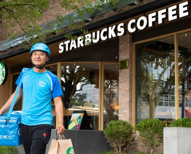 Starbucks teams with Alibaba to serve up coffee delivery service