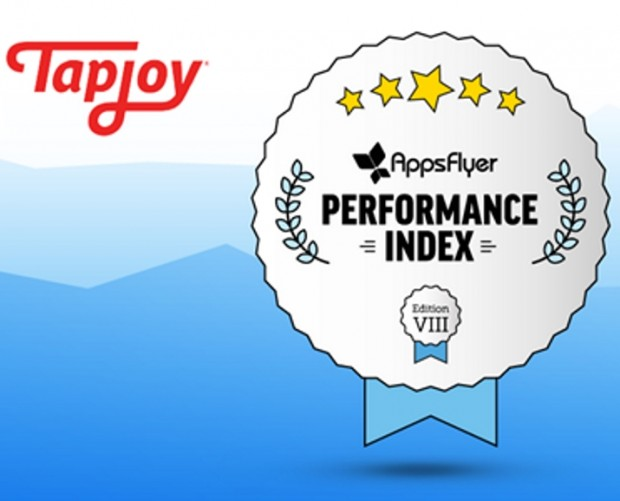 Tapjoy ranks in nine universal performance categories in latest AppsFlyer Index