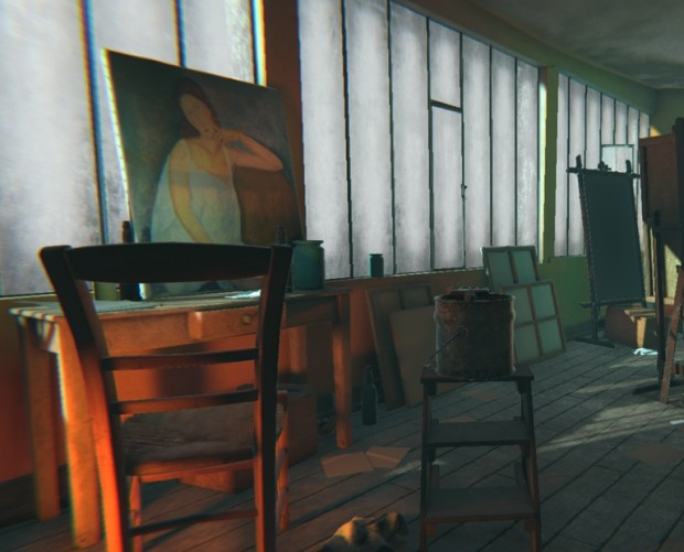 Tate Modern is using VR to give visitors a look at how iconic painter lived