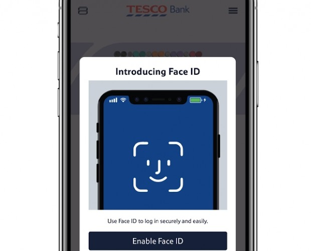 Tesco harnesses the power of the iPhone X's Face ID for mobile banking