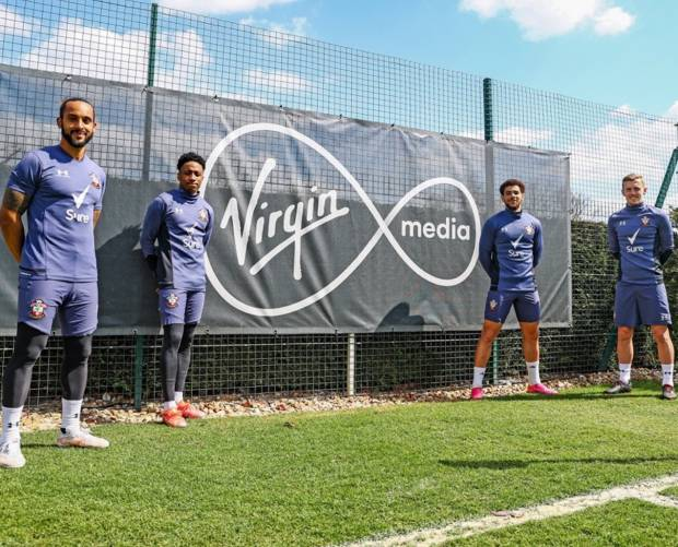 Virgin Media and Southampton FC launch virtual football academy