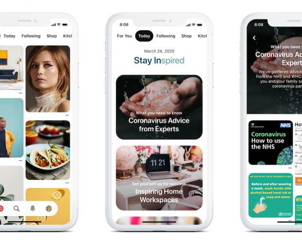 Pinterest launches the Today tab to share global trending activities