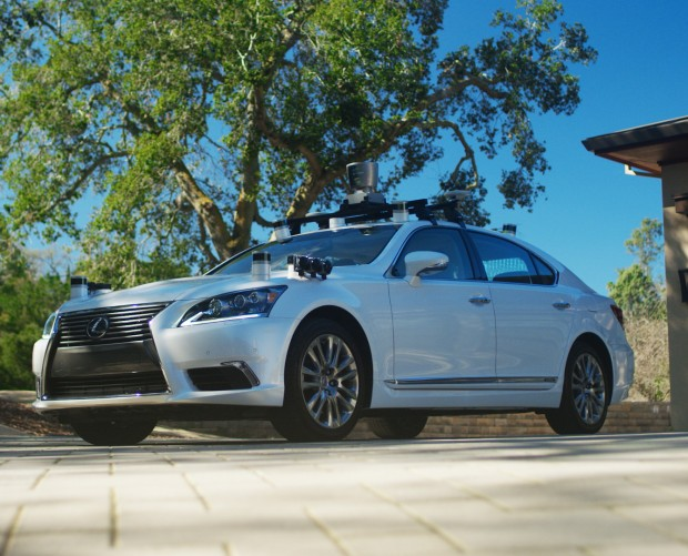 Toyota introduces self-driving Lexus test vehicle