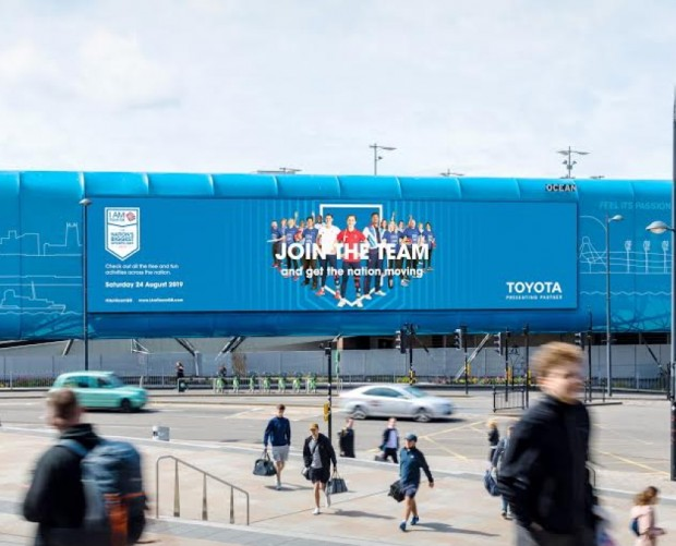 Toyota, Team GB, and Ocean launch DOOH fitness campaign