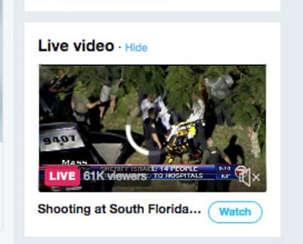 Twitter starts livestreaming local breaking news broadcasts