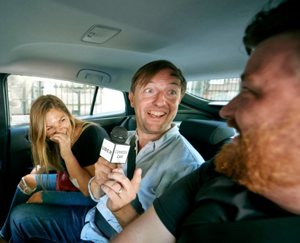 Andrew Maxwell is playing Edinburgh Fringe gigs in Ubers