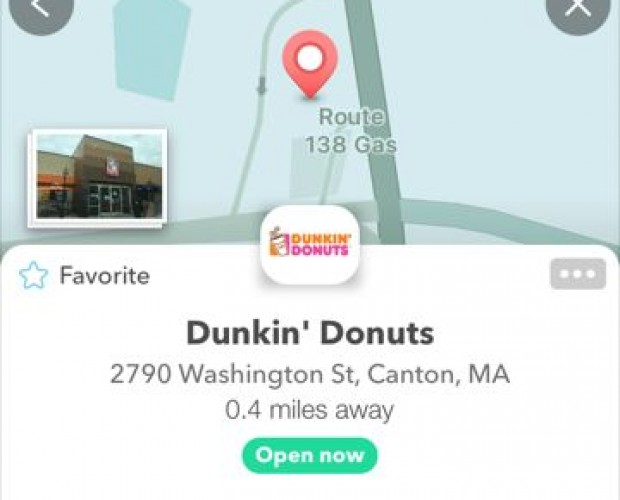 Dunkin' Donuts and Google's Waze team up for ordering in