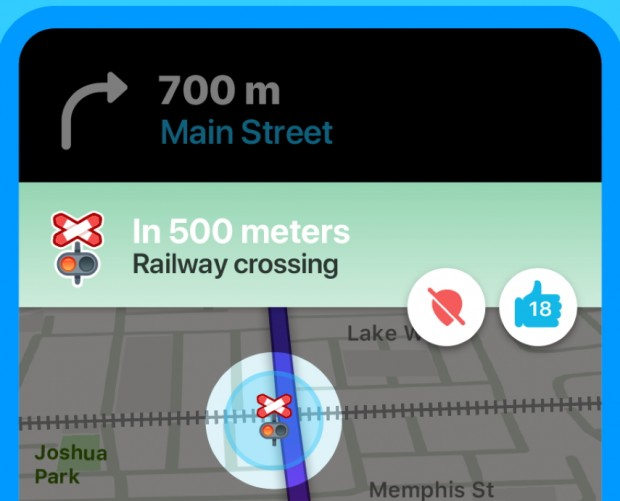 Waze rolls out railroad crossing alerts globally