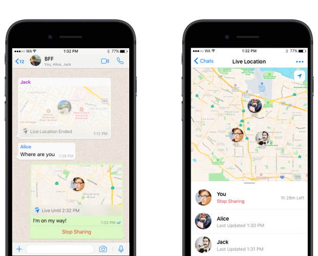 Whatsapp Adds Live Location Tracking Will It Face A Snapchat Style Controversy Mobile Marketing Magazine For privacy reasons, we will not be able to find out your current geographical location unless you are using a secured connection (make sure the url starts. whatsapp adds live location tracking