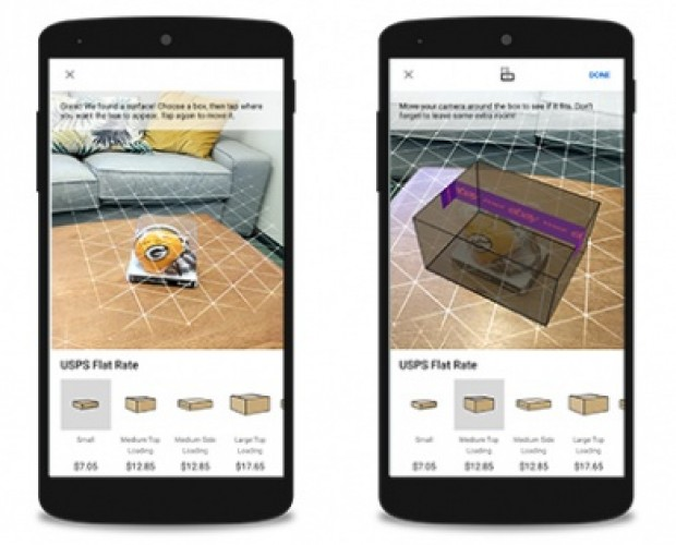 eBay launches AR tool to make shipping a breeze