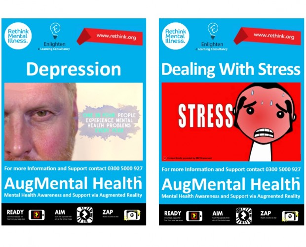 Enlighten and Zappar deploy AR posters for World Mental Health Day