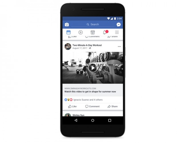 Facebook takes action against video clickbait, while testing customised news stories