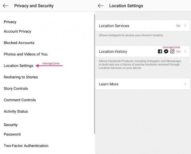 Facebook prototypes method of pulling in location data from Instagram