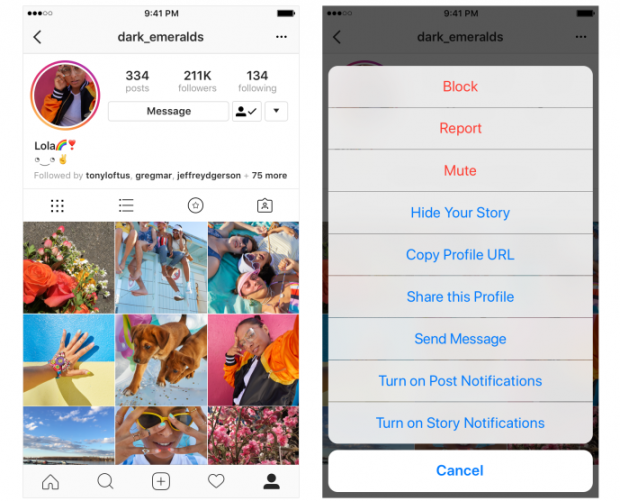 Instagram adds a mute button, countless friendships can continue safely