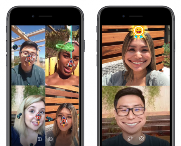 Facebook brings AR gaming to Messenger video chat