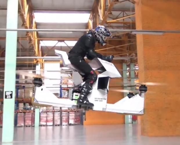 Innovation Lab: Hoverbikes, Bionic Leaves and Martian 3D Printing