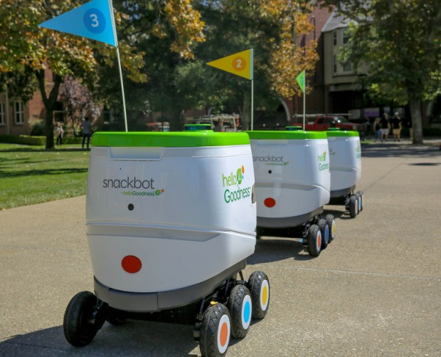 PepsiCo and Hello Goodness debut snack-delivering robots