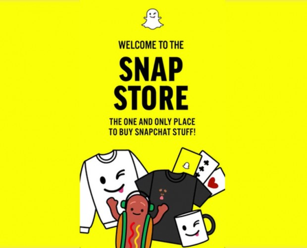 Snapchat launches in-app merchandise store, opening the potential for mCommerce