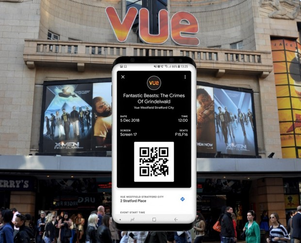 Google Pay to cut popcorn queues at Vue Cinemas